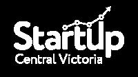 Startup Central Victoria logo_MONO_reverse